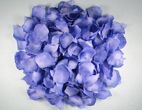 Royal blue wedding silk rose flower petals 12 packs cb for Cb flowers and crafts
