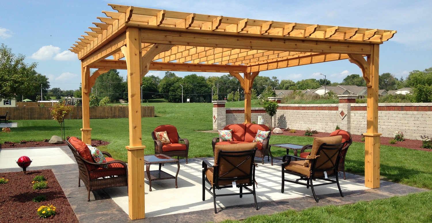 pergola kits. Black Bedroom Furniture Sets. Home Design Ideas