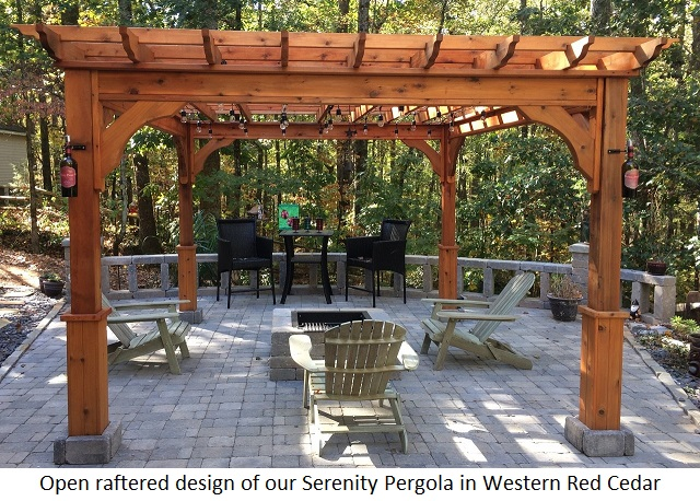 Pergola kits - Build rectangular gazebo guide models ...