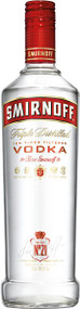 SMIRNOFF VODKA 80 PROOF (750 ML)