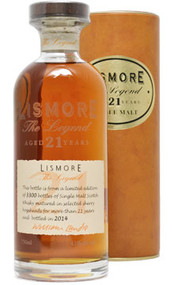 Lismore Single Malt Scotch 21 Year The Legend (750mL)