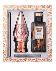 AABSOLUT ELYX GIFT SET WITH THE ORIGINAL COPPER GNOME