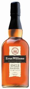 EVAN WILLIAMS SINGLE BARREL BOURBON (750 ML)