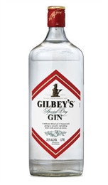 Gilbeys Dry Gin 750 mL, 37.5%