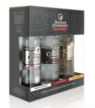 RUSSIAN STANDARD HOUSE OF VODKA (3PK 375 ML)