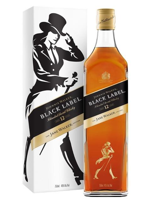 JOHNNIE WALKER BLACK LABEL THE JANE WALKER EDITION 750ML