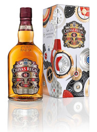 Chivas 12yr. 750ml Limited Edition Watches And Gift Tin by Bremont