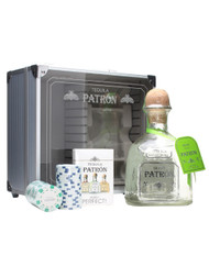 PATRON SILVER TEQUILA Poker Set 750ml