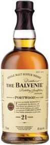 BALVENIE SCOTCH 21 YEAR PORTWOOD (750 ML)