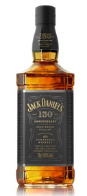 JACK DANIELS 150TH ANNIVERSARY 86 PROOF WHISKEY