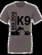 Big Dog Motorcycles K-9 T-Shirt (Gray) - Large