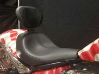 Touring Seat with Lumbar Backrest Support