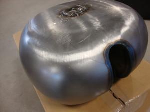 RAW STEEL FUEL GAS TANK (2003-04 BOXER)