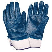 6961RL BRAWLER™ PREMIUM DIPPED NITRILE  ROUGH FULLY COATED   JERSEY LINED  SAFETY CUFF  SANITIZED® Cordova Safety Products