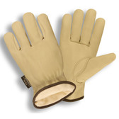 8255S PREMIUM GRAIN COWHIDE DRIVER  THINSULATE® LINED  SHIRRED ELASTIC BACK   KEYSTONE THUMB Cordova Safety Products
