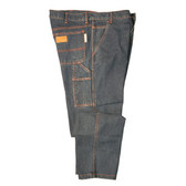 FZ510DM3034 FOREFRONT™ FR CARPENTER JEANS  13 OZ FIREZERO® DENIM FABRIC  RELAXED FIT  SIX POCKETS  HAMMER LOOP  ZIP FLY  WAIST 30/LENGTH 34 Cordova Safety Products