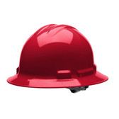 H34R4 DUO™ RED FULL-BRIM STYLE HELMET  4-POINT RATCHET SUSPENSION Cordova Safety Products