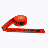 T25212 2.5 MIL Barricade Tape  RED DANGER DO NOT ENTER Cordova Safety Products