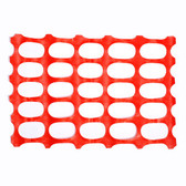 SF1201 SAFETY FENCING  OVAL PATTERN  ORANGE COLOR  10 LB Cordova Safety Products