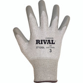 3712GXS RIVAL™ LIGHT GRAY 13-GAUGE HPPE SHELL  GRAY POLYURETHANE PALM COATING Cordova Safety Products