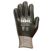 3765S SABRE™ 10-GAUGE HPPE SHELL  FULLY COATED  BLACK FOAM NITRILE  ANSI CUT LEVEL 2 Cordova Safety Products