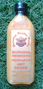 Burning Desire Burning Obsession Pepppapot Hot Sauce