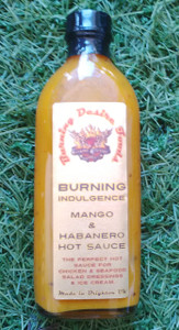 Burning Desire Indulgence Mango & Habanero Hot Sauce