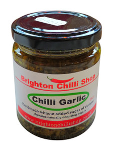 Brighton Chili Shop's Hot Chili Garlic, 175 Grams
