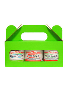 Gift Pack-3 Jars (chilli garlic, chilli pickle, chilli chutney)