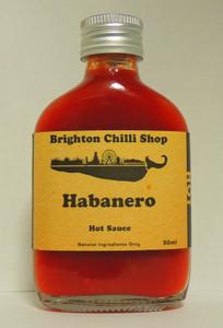 Mini Habanero hot sauce 50ml
