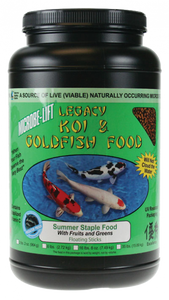 Microbe-Lift Legacy Koi and Goldfish Food - Fruits & Greens 2 lb.