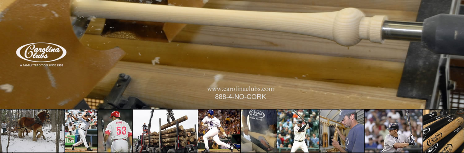 Wood Basebal Bats - Carolina Clubs Google+