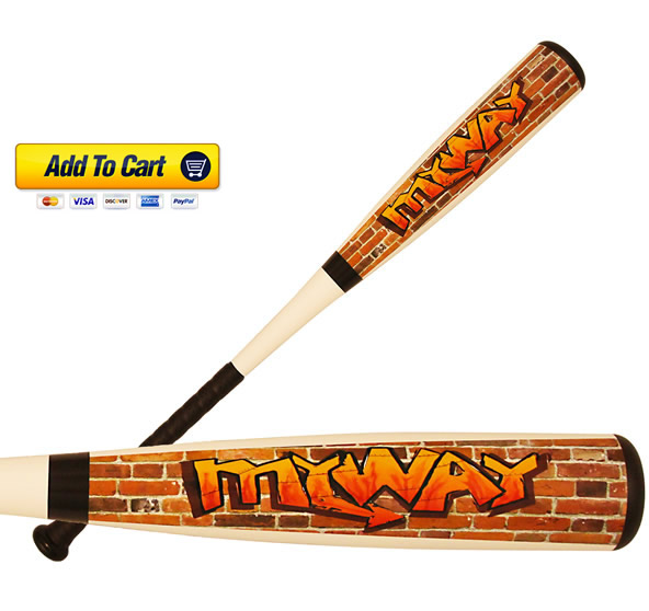 Buy Online - Carolina Clubs MyWay Youth Aluminum Baseball Bat - USSSA Approved