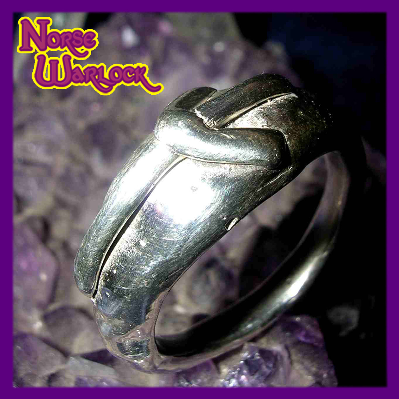 Elhaz Rune Ring! Justice, Victory & Success are Yours! Algiz Viking