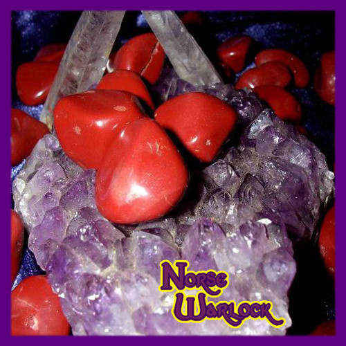 3 Red Jasper Gemstones for Personal Courage Protection! Metaphysical