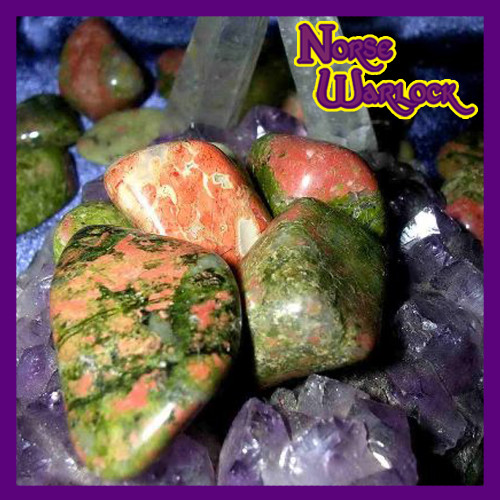 3 Metaphysical Unakite Gemstones Unconditional Love & Connection!