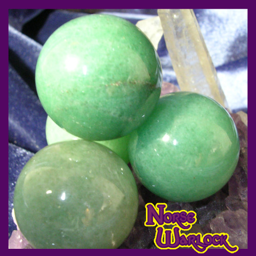 3 Jade Sphere Crystal Balls for Healing, Protection, Long Life & Friendship!