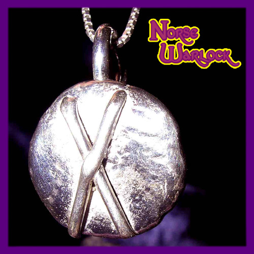 Gebo Rune Pendant! Friendship, Gifts and Connection to The Gods!