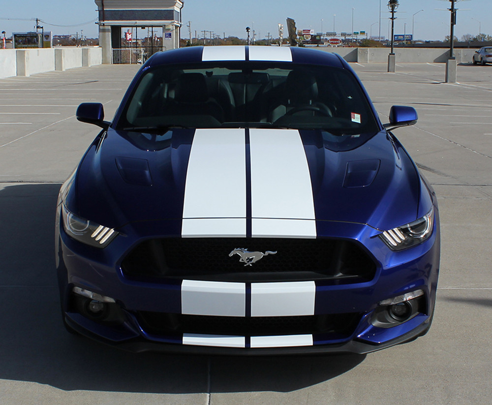 2015-2017 Ford Mustang Stallion Racing Stripes Graphic Kit