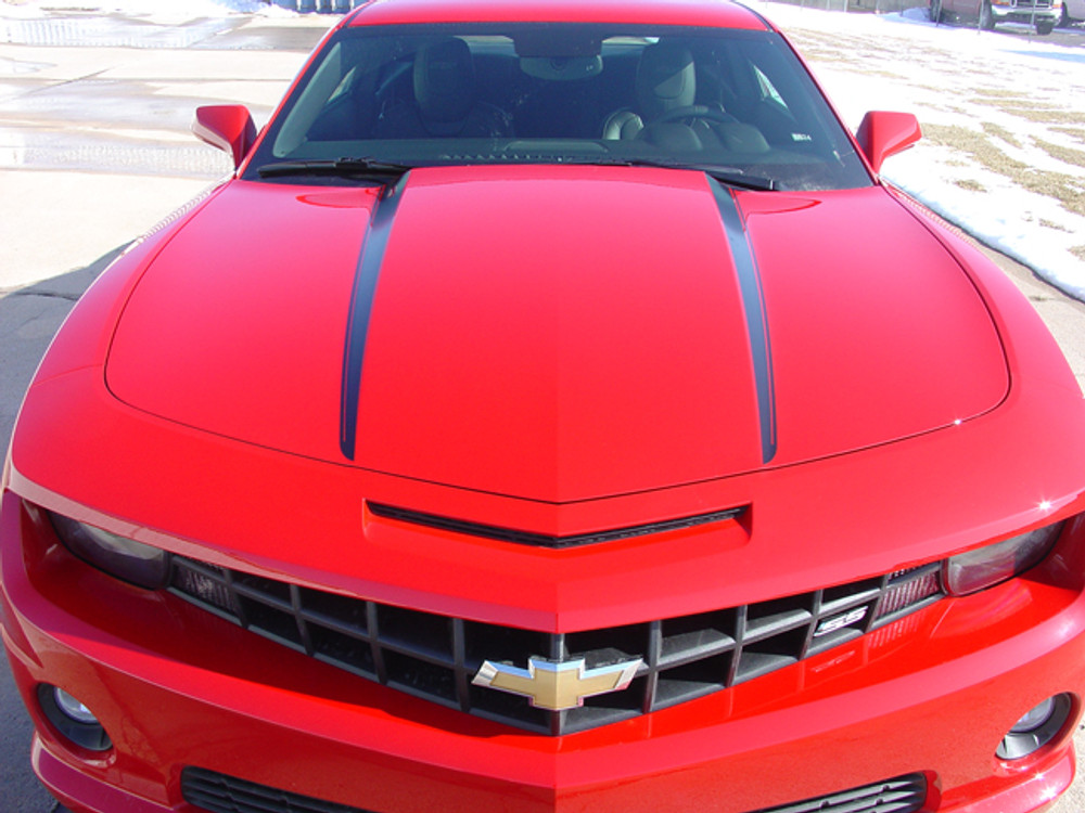 2009-2014 Chevy Camaro Hood Spikes Graphic Kit