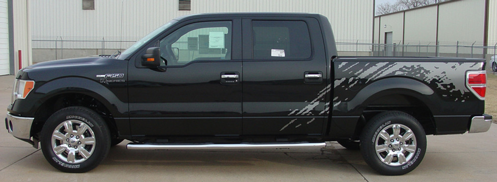 09-14 Ford F-150 Predator F-Series Graphic Kit Side View