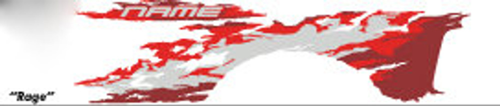 Dodge Ram Rage Graphic Kit SE3106-02 Diagram