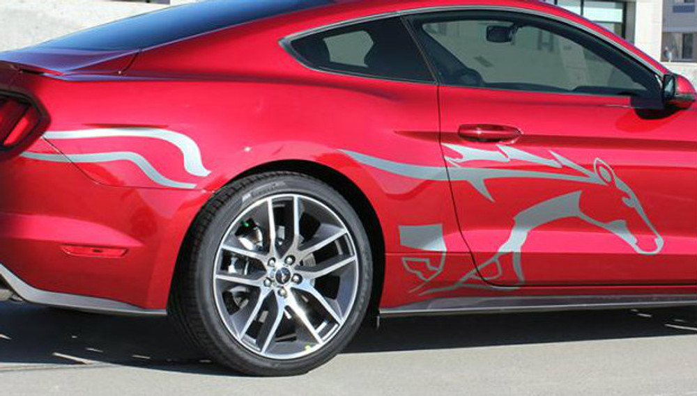 2015-2017 Ford Mustang Steed Graphic Kit
