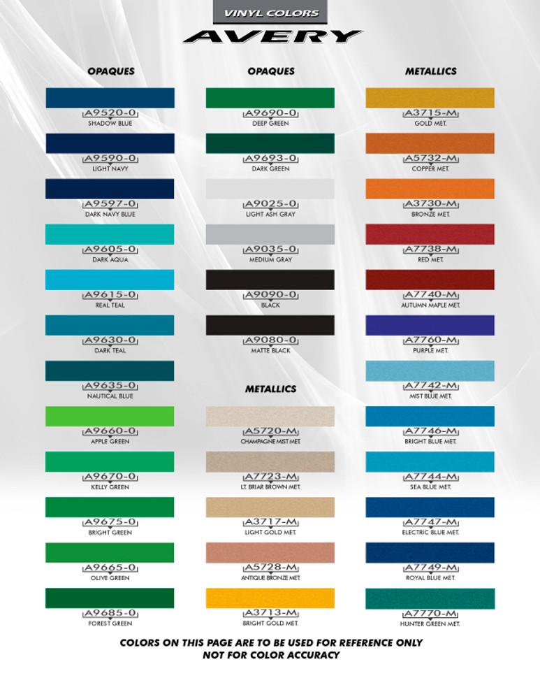 2015-2017 Contender Mustang Stripe Kit