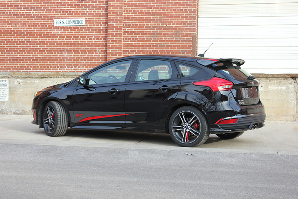 2015-2017 Ford Focus Blade ST Graphic Kit