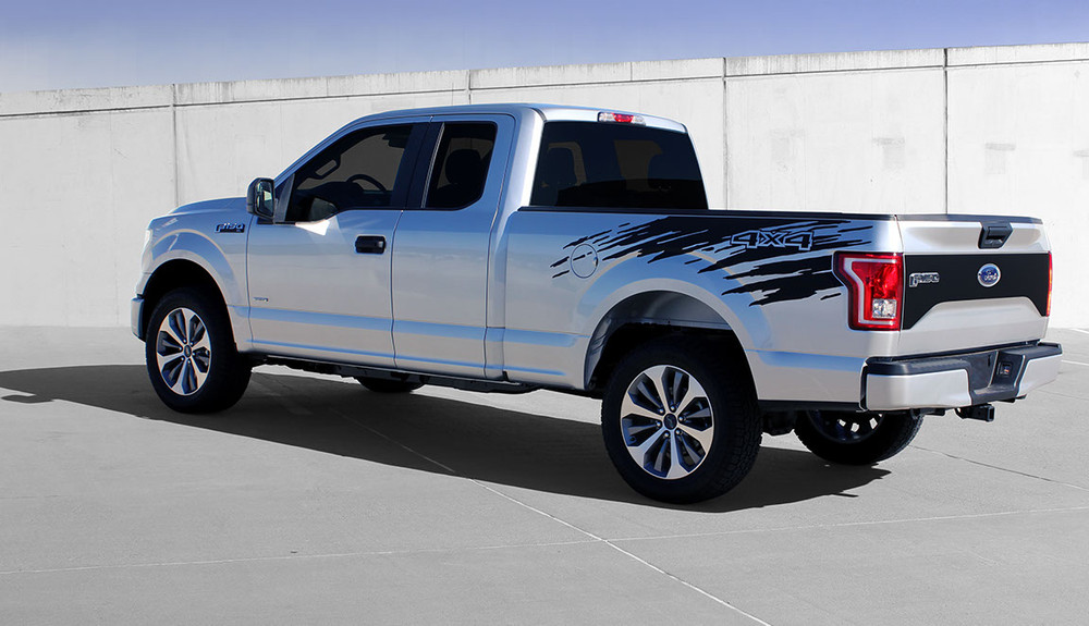 2015-2017 Ford F-150 Rouse Rip Graphic Kit