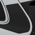 2014 2015 2016 2017 Jeep Cherokee Warrior Side Vinyl Stripes Graphic Kit Close Up