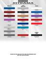 2009-2015 Chevrolet Camaro Double Bar Graphic Kit