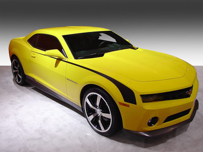2009-2013 Chevrolet Camaro Throwback Hockey Stripe Kit
