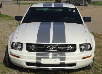 2005-2009 Ford Mustang S-V62 Rally Stripe Kit No Spoiler